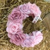 Ободок «Розовые розы»