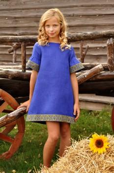 Платье детское для девочки в национальном стиле