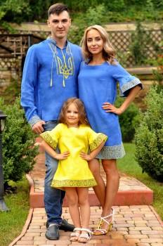 Оригінальний сімейний комплект в національному стилі