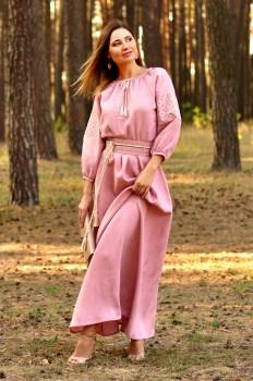 Казково красива сукня пудрово-рожевого відтінку