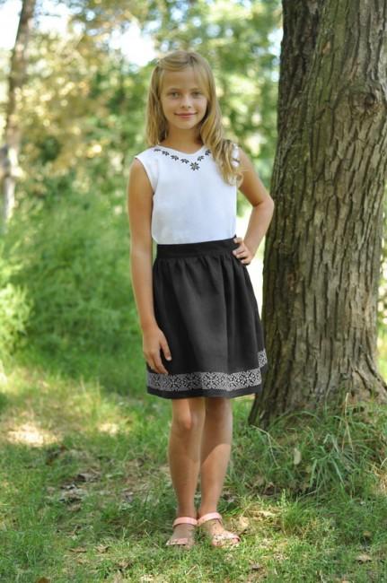 Блуза и юбка для девочки