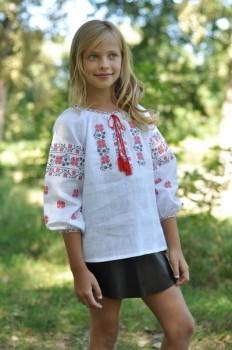 Вышиванка детская для девочки