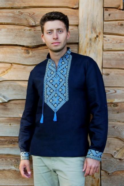 Современная мужская вышиванка